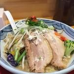 長崎らーめん 琴海 - 野菜ラーメンチャーシューのせ