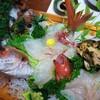 民宿いけだ - 料理写真:タイ・アコウ・ニシ貝の豪華な活き造り