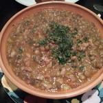 エル・カミニート - レンズ豆の煮込み