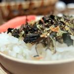 畑のあぐり - 蒸篭で炊いた海のご飯