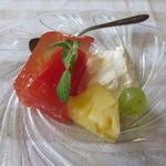 50448414 - トマトのゼリーレモン風味
