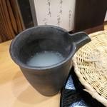 片町 弥ひろ - そば湯