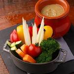 グラムキッチン - 彩り野菜のバーニャカウダー