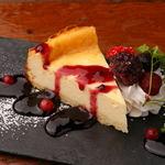 グラムキッチン - マスカルポーネのベイクドチーズケーキ