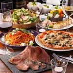 グラムキッチン - Wメイン料理のプレミアムコース・