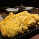 築地 虎杖 - 出汁巻き玉子ずわい蟹入り950円