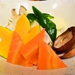 牛酔 - 野菜焼き