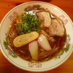 まるまつラーメン - ラーメン元味(醤油)500円