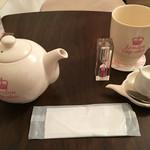 ロンドン カップケーキ - 紅茶をイートイン
