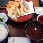 Tempurahisago - 春の味覚定食(16-05)
