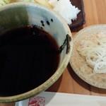 板蕎麦 香り家 - つゆ、薬味