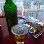 酒ノみつや - 「ハートランドビール」と乾きモノの「いか天」