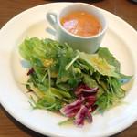 キンボシ パスタ カフェ - スープ&サラダ〜(^O.^☆♪