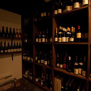 古酒から現代生産者まで、幅広いフランスワインへのこだわり