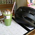 茶夢 - サイクリング後の抹茶ラテ