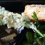 きこり - 春菊の天ぷら