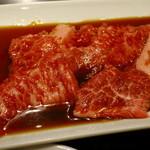 50467683 - 「焼肉御膳」のご飯大盛り、肉1.5倍