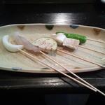 50469306 - 玉ねぎ・海老・茄子・豆腐とネギ・ししとう