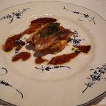 ラヴェンナ - 鯛とイワシのガレット