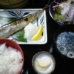 5047807 - さんまのぬか漬け定食 2010.9.9