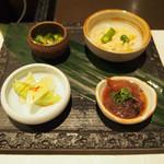 博多水炊きと炭火焼き鳥 美神鶏 - 前菜