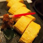 博多水炊きと炭火焼き鳥 美神鶏 - 出汁巻き玉子(追加)
