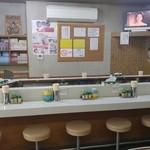 ブーケ - 店舗内カウンター