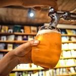森の図書室 - ビール冷えてます!