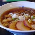 幸華 - チャーシューワンタン麺