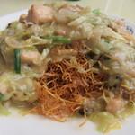 50475838 - 鶏皿うどん(細麺)