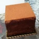 50475918 - 人気NO1の石畳チョコレートケーキ2016.4