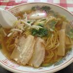 尾木食堂 - 高知系食堂ラーメン♪美味い!