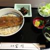 麻布 宮川 - 料理写真:ランチの鰻丼
