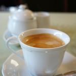 café de campagne - ドリンクは、ホットコーヒーです