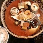 50479151 - 花籠膳月、これに焼き魚と和菓子つき