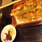 水内庵 - 天丼 ¥1400