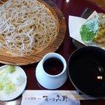 5048904 - 松茸と舞茸の天ぷらせいろ 1,380円