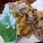 5048907 - 松茸と舞茸の天ぷら