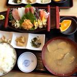 魚忠 - お刺身定食