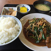 やまき食堂 - 料理写真:ニラレバ定食=650円 税込
