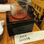 こんごう庵 - 新潟県津川町の清酒麒麟山一合550円、15年ぶりに頂きました。辛口でスッキリした良いお酒です。