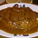 日乃屋カレー - カツカレー 初め甘くて、後から辛い、不思議なカレーでした。