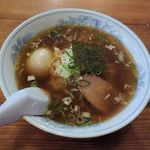 森商店 - 森商店(中華そば650円+煮卵50円)
