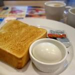 50488430 - トースト&ゆで卵セット