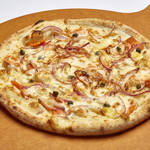 Pine Tree Bless - Salmon and Red Onion Pizza