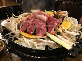 炭火焼ジンギスカン ポッケ - 生ラムジンギスカン