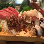 正寿司 - 料理写真:刺身盛合せ