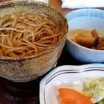 50494083 - 和風レストラン ときのランチ付け合せ。蕎麦は温かいものを選択。