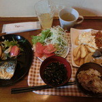 Cafe&Dining zero+ - さば定食