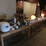 Cafe&Dining zero+ - バイキング料理